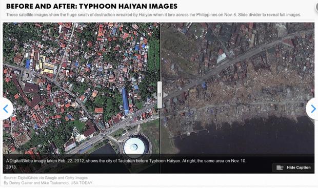 Philippine city of Tacloban