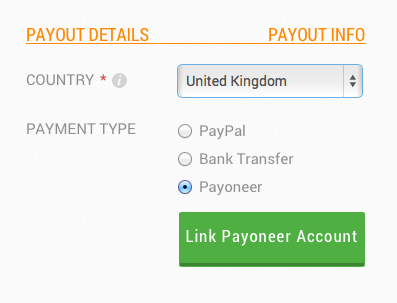 Sign up for a new Payoneer account through your Fabrily account and receive free card activation and free bank transfers (via Payoneer) until Septemeber 20th!