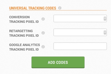 universal tracking