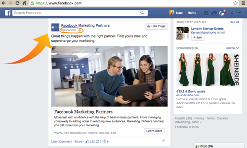 how to advertise on facebook boosted post facebook ad. Black Bedroom Furniture Sets. Home Design Ideas
